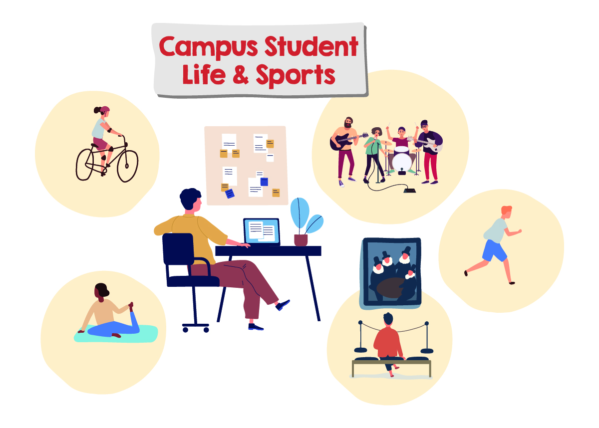 Tip 5 Campus Student Life & Sports
