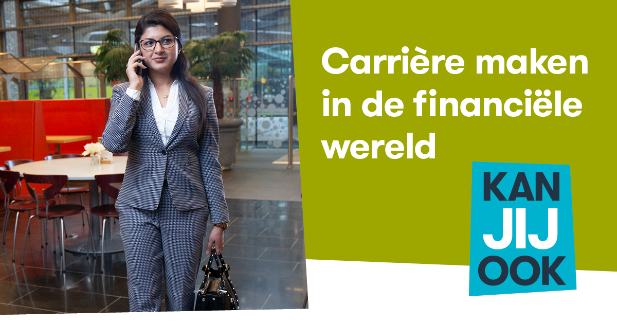 Negin van Petersen – Mashal over carriere in de financiele wereld