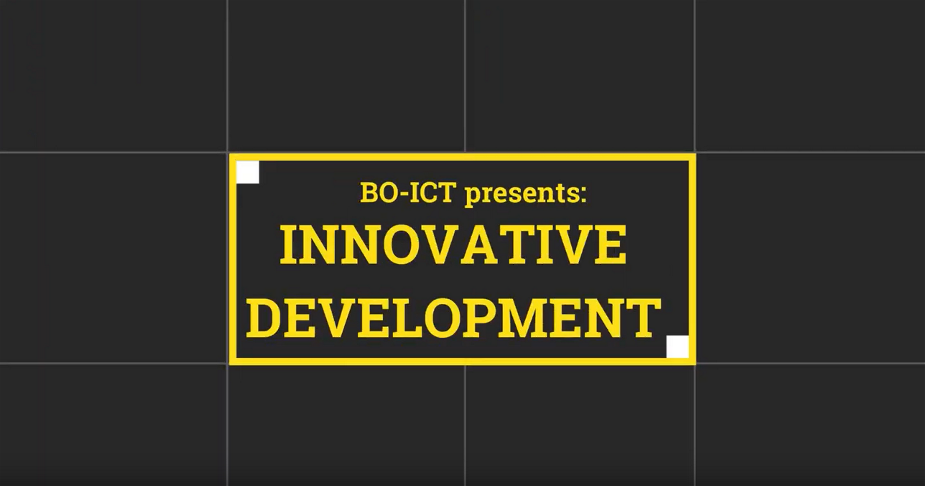 Logo innovative development